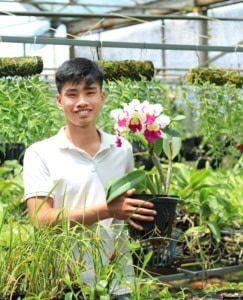 vườn lan Thành Nguyễn
